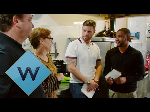 Keith Duffy and JB GIll Learn To Cook Bogavante | Battlechefs | W
