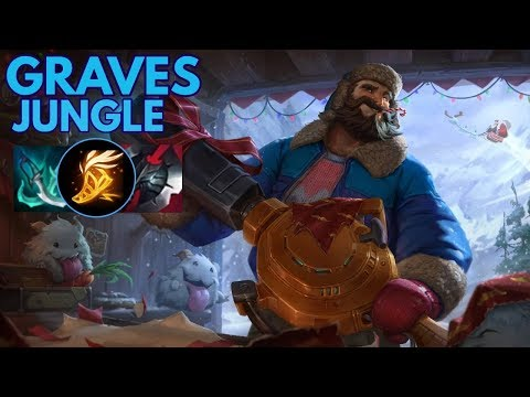 Snow Day Graves Jungler-League of Legends Full Gameplay
