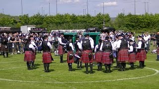 AYR PIPE BAND SOCIETY AT THE BRITISH PIPE BAND CHAMPIONSHIPS 2018