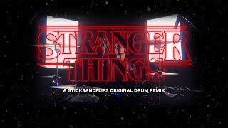 STRANGER THINGS DRUM REMIX by Darío de la Rosa (Theme song remix by C418)