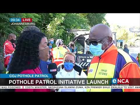 City of Joburg launches pothole patrol initiative