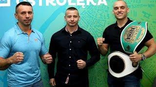 Rozmowa z zawodnikami i trenerem Fight Academy Ostrołęka