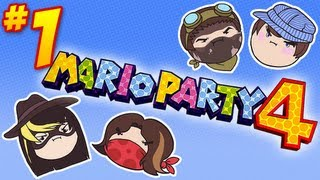Mario Party 4: Suzy Joins the Party! - PART 1 - Steam Rolled
