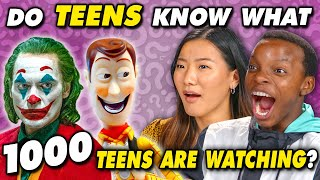 Do Teens Know What Thousands Of Teens Are Watching In 2019? | Do They Know It?