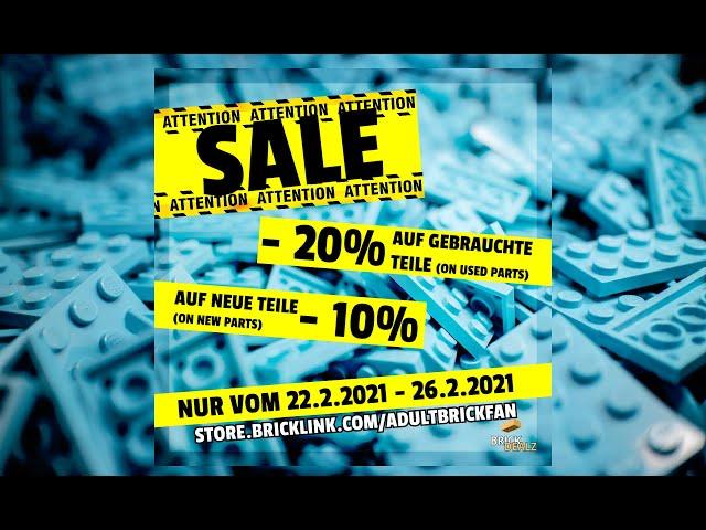 BrickLink Sale! Schaut mal vorbei :)  #shorts