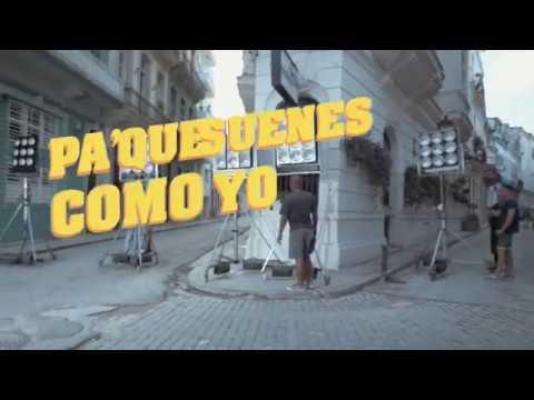 Making off del  clip  Pa'que suenes como yo ( Pablo FG , Haila y Mayito)