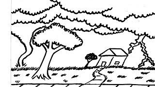 Bad Weather Landscape (Long Drawing) - (clubanimeartist.blogspot.com)