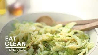 Celery, Sunchoke, And Green Apple Salad With Mustard Vinaigrette - Eat Clean With Shira Bocar