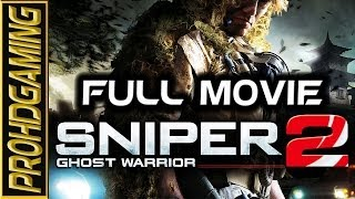 Sniper Ghost Warrior 2 (PC) I Full Movie I Walkthough/Gameplay [HD]