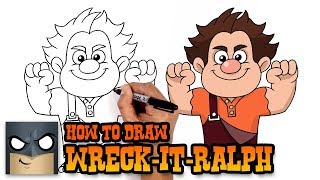 How to Draw Wreck-It-Ralph | Art Tutorial