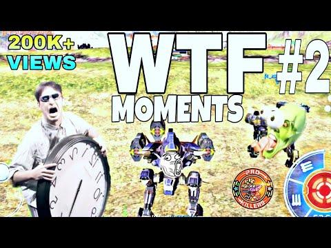 WTF MOMENTS #2  (WAR ROBOTS)