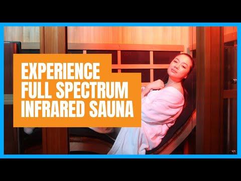 Experience Full Spectrum Infrared Sauna with sweatspa