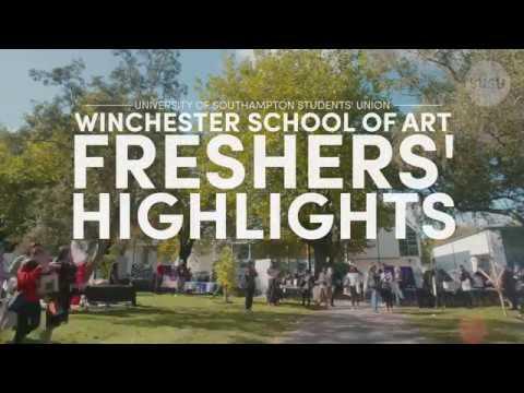 Winchester School of Art: Freshers' 2017