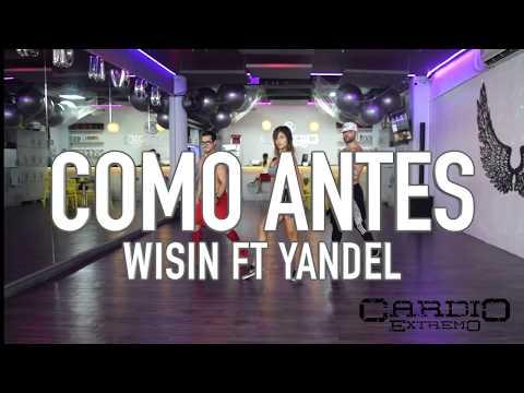 Como AntesWisin ft Yandel by Cesar James, Nath Cabrera y Reychi Music Zumba Cardio Extremo