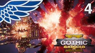 BATTLEFLEET GOTHIC ARMADA 2 | Orks vs Tau Merchant Part 4 - BFG Armada 2 Beta Gameplay