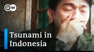 Indonesia tsunami: Pop band Seventeen swept off stage during performance | DW News mp3
