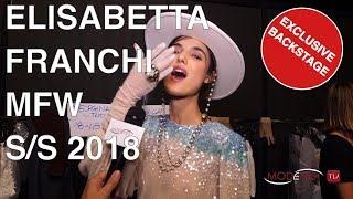 ELISABETTA FRANCHI | SUMMER 2018 | EXCLUSIVE BACKSTAGE + INTERVIEW + FULL SHOW