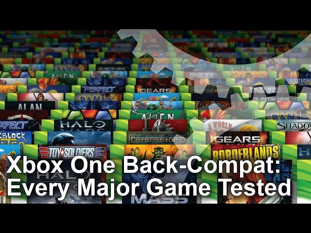 Xbox One backward compatibility: every major game tested
