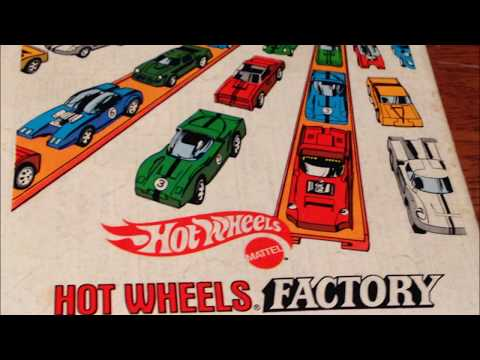 COMIC MAN PRODUCTIONS: MATTEL'S HOT WHEELS FACTORY COMIC BOOK AD 1970