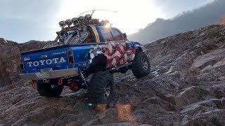 RC4WD Trail Finder 2lwb Rock Trail(My friend's car)