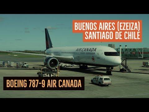 Air Canada - Ezeiza Santiago de Chile - Boeing 787-9