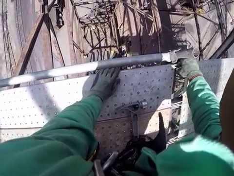 Hanging scaffold tear down, E.T.