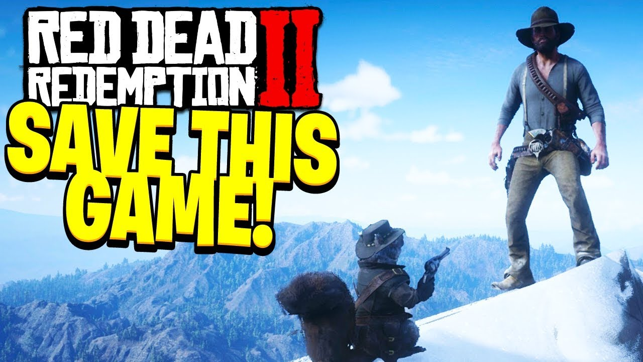 Red Dead Online can BE SAVED! (DYING GAME)