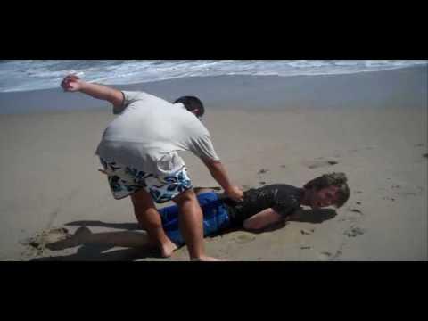 shark attack at beach