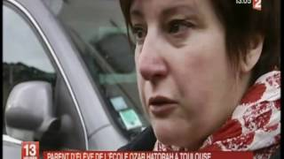 Massacre a Toulouse - Extrait du journal Tv de France 2