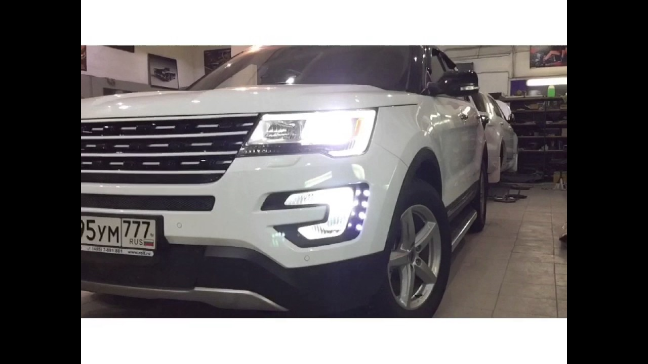 New Front Grille Ford Explorer