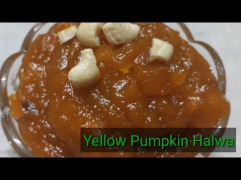 Yellow Pumpkin/Parangikai Halwa/Tamil