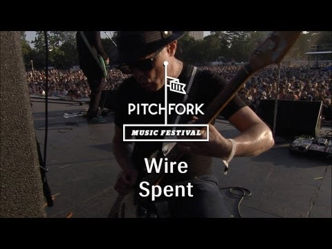 "Wire - ""Spent"" - Pitchfork Music Festival 2013"