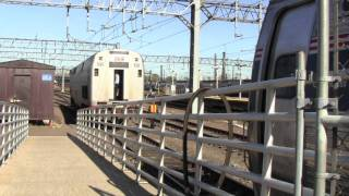 [HD] Amtrak Vermonter No. 54 Engine Swap- New Haven, CT