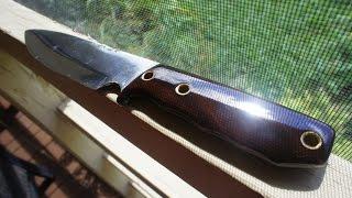 End Grain Koa Knife Re-Handle