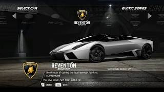 Need For Speed Hot Parsuit Lamborghini Reventon out running the law