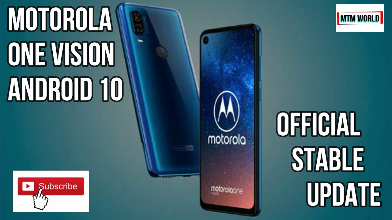 Motorola One Vision Android 10