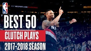 best 50 clutch plays of the 2018 nba regular season