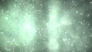 4K Grainy Green Grey Space Nebula Inner Shine 2160p Motion Background