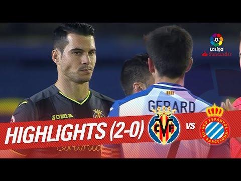 Resumen de Villarreal CF vs RCD Espanyol (2-0)
