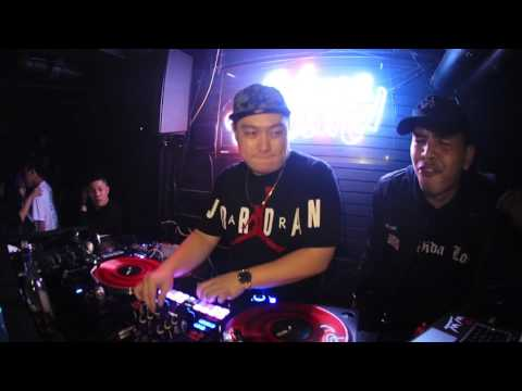 """DJ w.W """"Versace on the floor moment"""" at Mixology"""