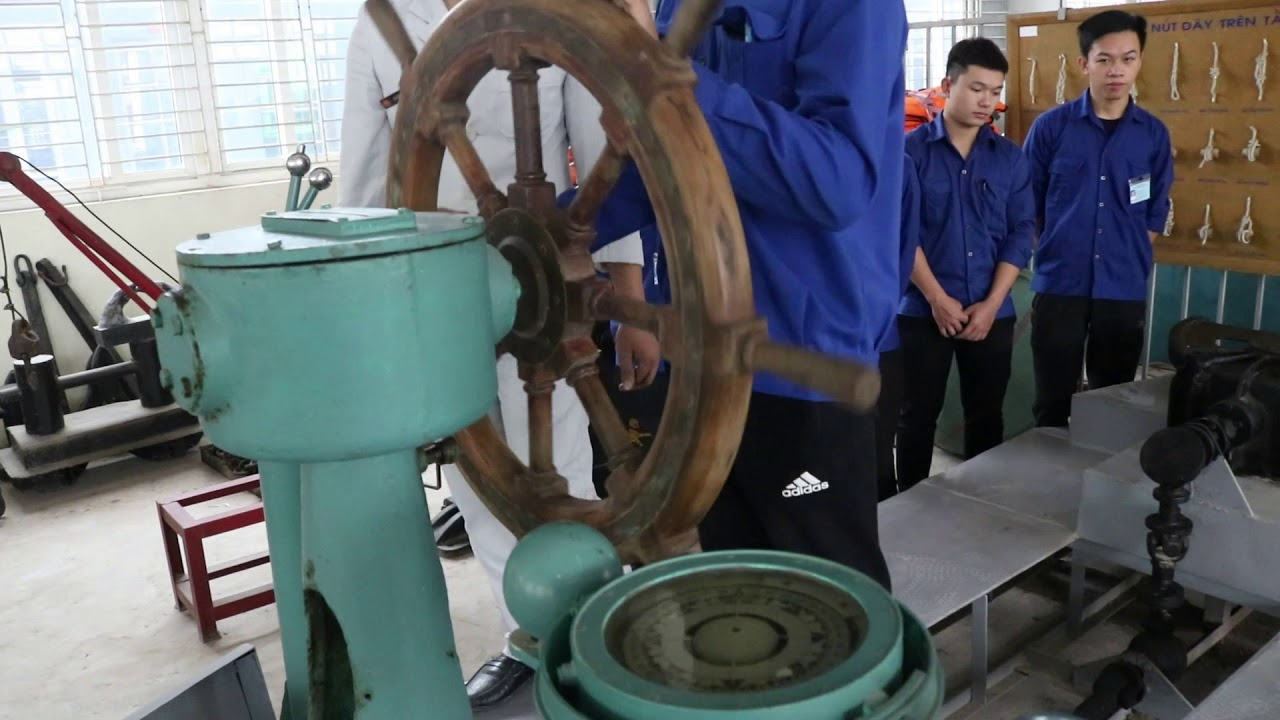 Chương trình học lái máy tàu thủy dành cho các ứng viên tham gia đơn hàng xuất khẩu lao động Nhật