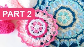 Welcome to part 2 of my Bluebell or Pinkbell Mandala CAL! Just a short crochet-a-long over the next few weeks using some of the lovely yarns I picked up from ...