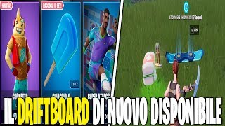 NEW MODALICITY DRIFT BOARD FORTNITE SHOP 17 FEBBRAIO SKIN CORNETTO
