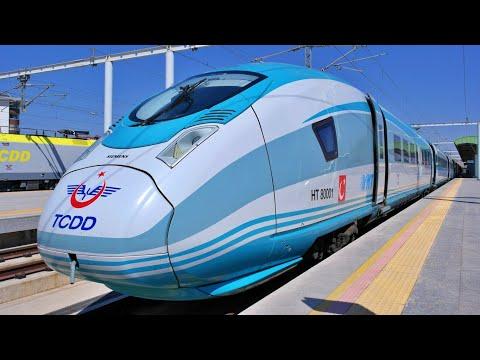 High-Speed Journey by Siemens Velaro (YHT)