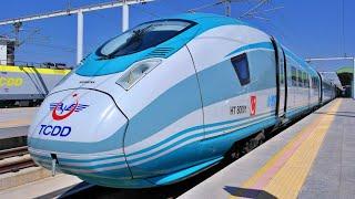 YHT   Turkish High-Speed Train Journey