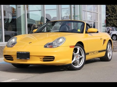 2003 porsche boxster for sale mercedes benz kamloops youtube. Black Bedroom Furniture Sets. Home Design Ideas