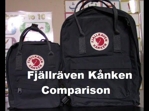 287b547105ee Fjällräven Kånken Mini   Classic Comparison - YouTube