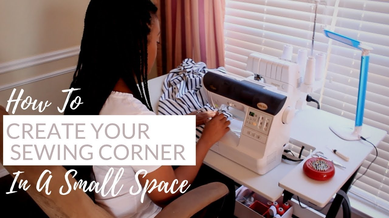 Sewing Space Ideas For A Small Apartment Or Room How To