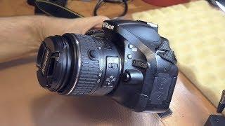 Не фокусируется / Не фотографирует зеркальная фотокамера Nikon D5200 Kit 18-55