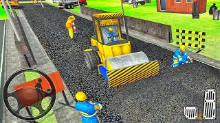 City Construction Road Builder 2021 - Highway Construction Simulator - Android Gameplay